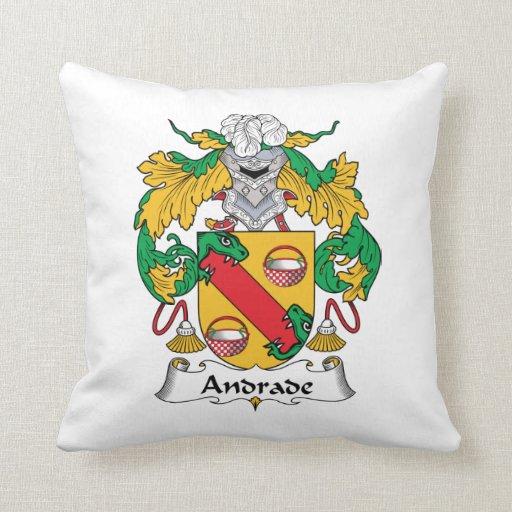 Escudo de la familia de Andrade Almohada
