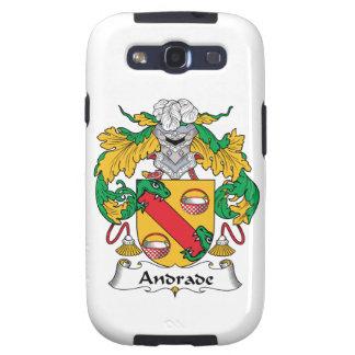 Escudo de la familia de Andrade Galaxy SIII Carcasa
