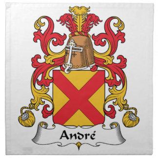 Escudo de la familia de Andre Servilleta Imprimida