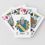 Escudo de la familia de Andrea Baraja Cartas De Poker