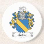 Escudo de la familia de Andrea Posavasos Personalizados