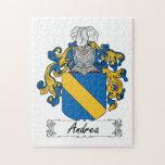 Escudo de la familia de Andrea Puzzle Con Fotos