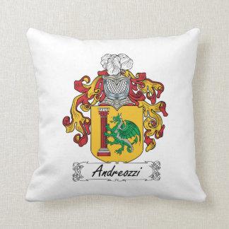 Escudo de la familia de Andreozzi Cojín