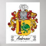 Escudo de la familia de Andreozzi Impresiones