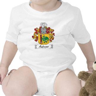 Escudo de la familia de Andreozzi Traje De Bebé
