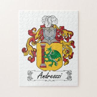 Escudo de la familia de Andreozzi Rompecabeza