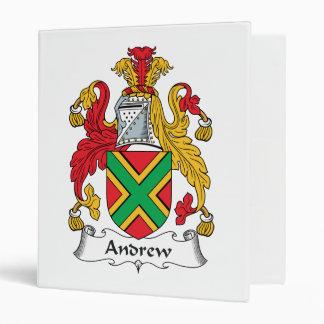 Escudo de la familia de Andrew