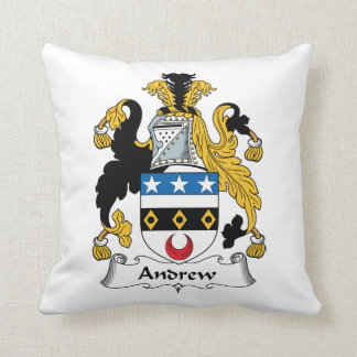 Escudo de la familia de Andrew Almohadas