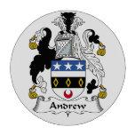 Escudo de la familia de Andrew Fichas De Póquer