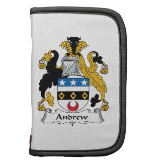 Escudo de la familia de Andrew Organizador