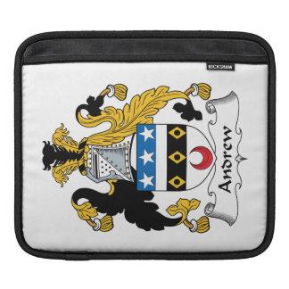Escudo de la familia de Andrew Funda Para iPads