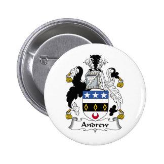 Escudo de la familia de Andrew Pin