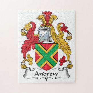 Escudo de la familia de Andrew Rompecabezas Con Fotos