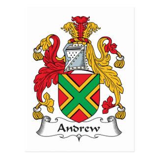 Escudo de la familia de Andrew Postal