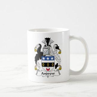 Escudo de la familia de Andrew Taza De Café