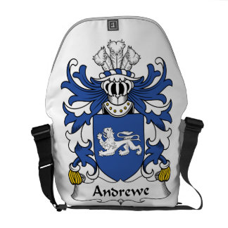 Escudo de la familia de Andrewe Bolsas De Mensajería