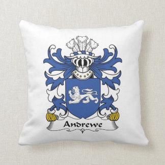 Escudo de la familia de Andrewe Almohadas