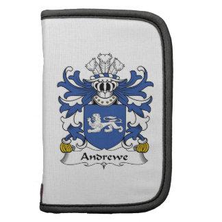 Escudo de la familia de Andrewe Organizador