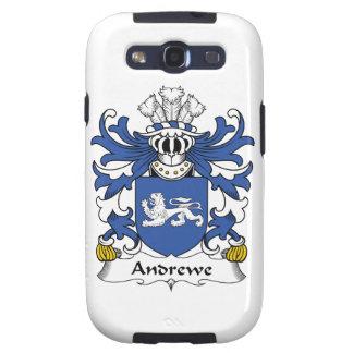 Escudo de la familia de Andrewe Galaxy S3 Protector