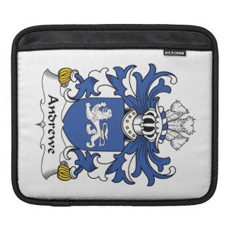 Escudo de la familia de Andrewe Fundas Para iPads