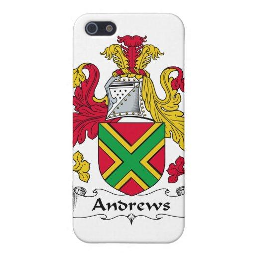Escudo de la familia de Andrews iPhone 5 Carcasa
