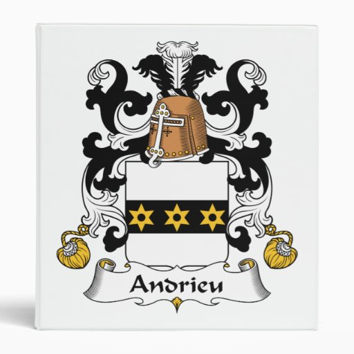 """Escudo de la familia de Andrieu Carpeta 1"""""""