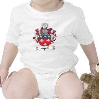Escudo de la familia de Ángel Trajes De Bebé