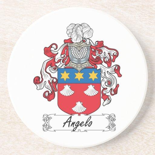 Escudo de la familia de Ángel Posavasos Manualidades