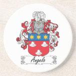 Escudo de la familia de Ángel Posavasos Diseño