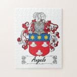 Escudo de la familia de Ángel Puzzle