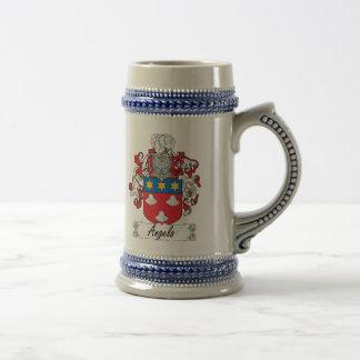 Escudo de la familia de Ángel Tazas De Café