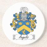 Escudo de la familia de Angelis Posavasos Manualidades