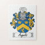 Escudo de la familia de Angelis Rompecabezas