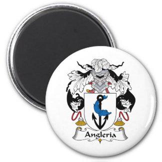 Escudo de la familia de Angleria Iman De Nevera