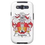 Escudo de la familia de Anguita Galaxy S3 Protector