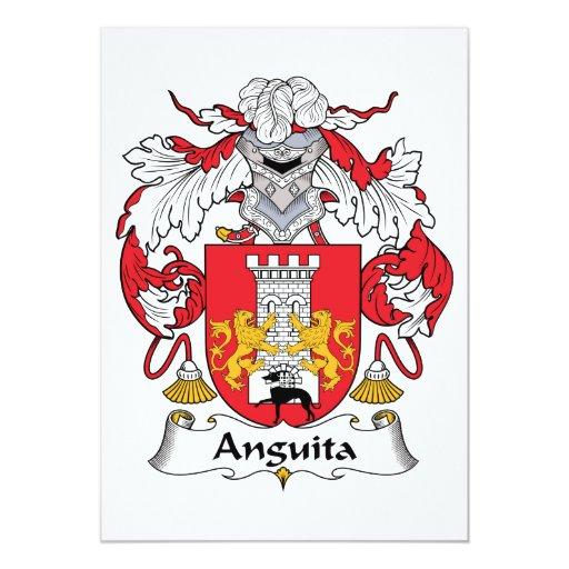 Escudo de la familia de Anguita Invitaciones Personalizada