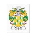 Escudo de la familia de Angulo Impresión En Lona