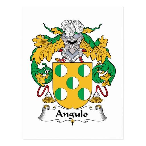 Escudo de la familia de Angulo Postal