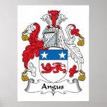 Escudo de la familia de Angus Impresiones