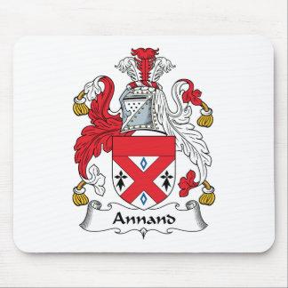 Escudo de la familia de Annand Alfombrillas De Ratón