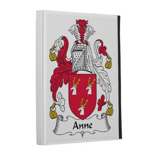 Escudo de la familia de Anne