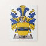 Escudo de la familia de Anrep Puzzles Con Fotos
