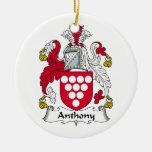 Escudo de la familia de Anthony Adorno Para Reyes