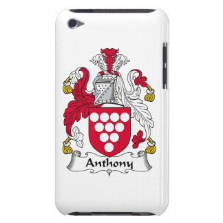 Escudo de la familia de Anthony Barely There iPod Protector