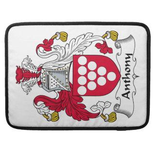 Escudo de la familia de Anthony Funda Para Macbook Pro