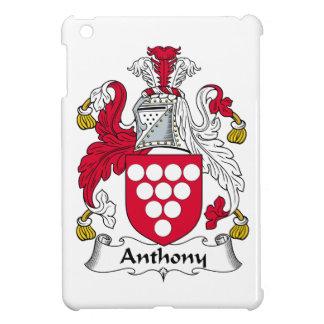 Escudo de la familia de Anthony iPad Mini Funda