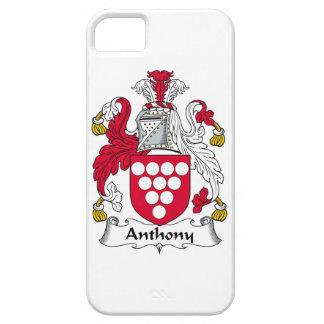 Escudo de la familia de Anthony iPhone 5 Funda