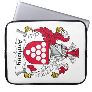 Escudo de la familia de Anthony Mangas Computadora