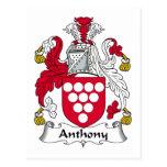 Escudo de la familia de Anthony Postales