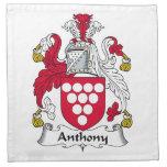 Escudo de la familia de Anthony Servilleta De Papel